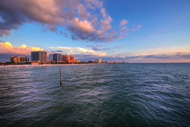 Sunset from Pier 60 - Clearwater - Florida - USA
