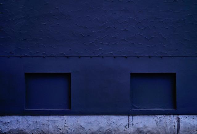 Strange Color Blue