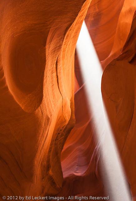 Light and Shape, Upper Antelope Canyon, Page, Arizona