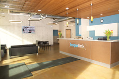 Hopelink Shoreline Center Lobby