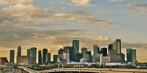 city skyline texas skyscrapers tx houston houstontexas houstonskyline