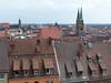 Norimberk, výhled z hradu, foto: Petr Nejedlý
