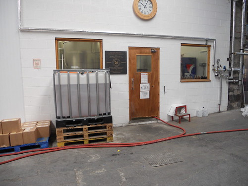 Inside, where the brews are made