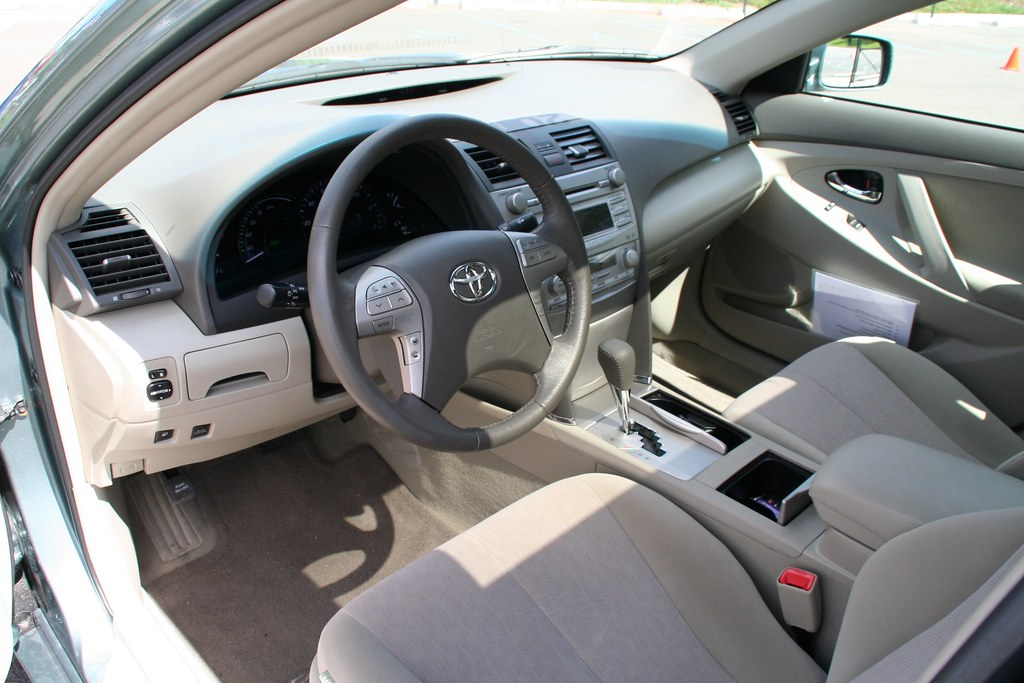 Toyota Camry Interior >> 2011 Toyota Camry Hybrid Interior This Is The Old Camry In