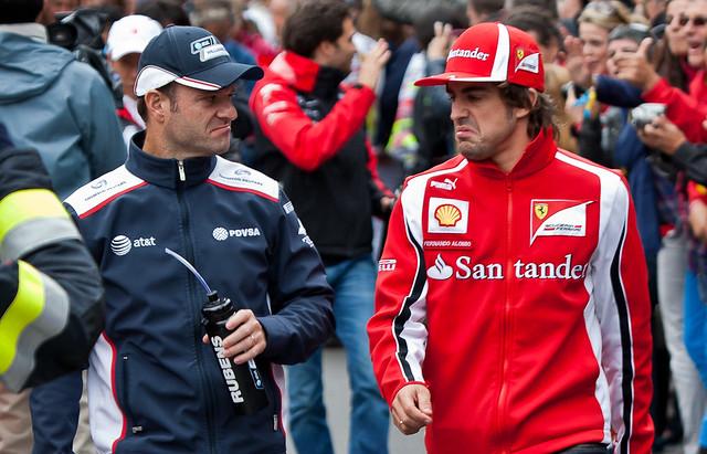 Fernando Alonso vs. Rubens Barrichello