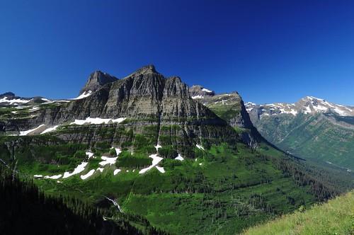 montana rockymountains glaciernationalpark highlinetrail mtoberlin