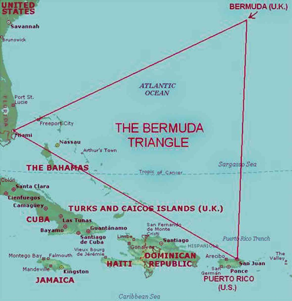 Bermuda Triangle map | Traveling Camera | Flickr