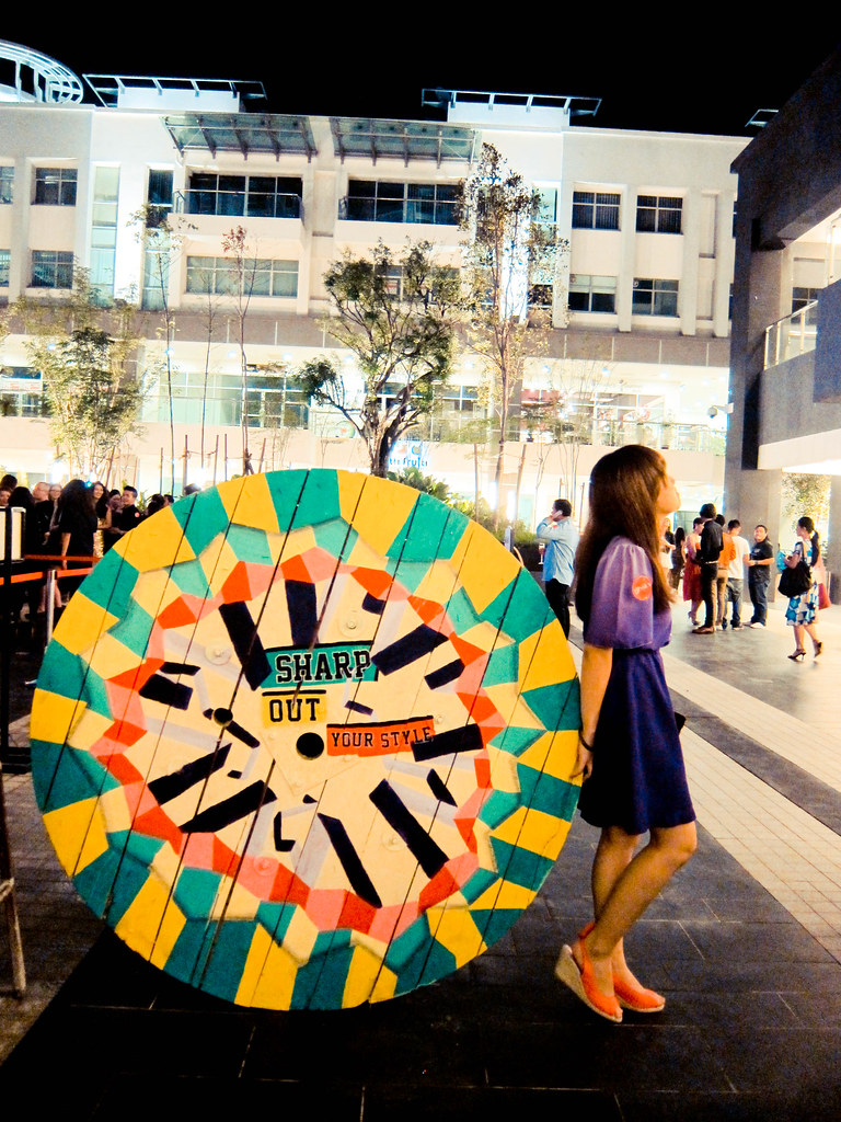 Jessica launch party x art spools painting | feel free to