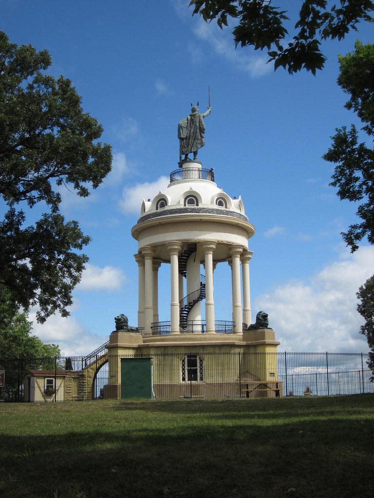Hermann Heights Monument - New Ulm, Minnesota