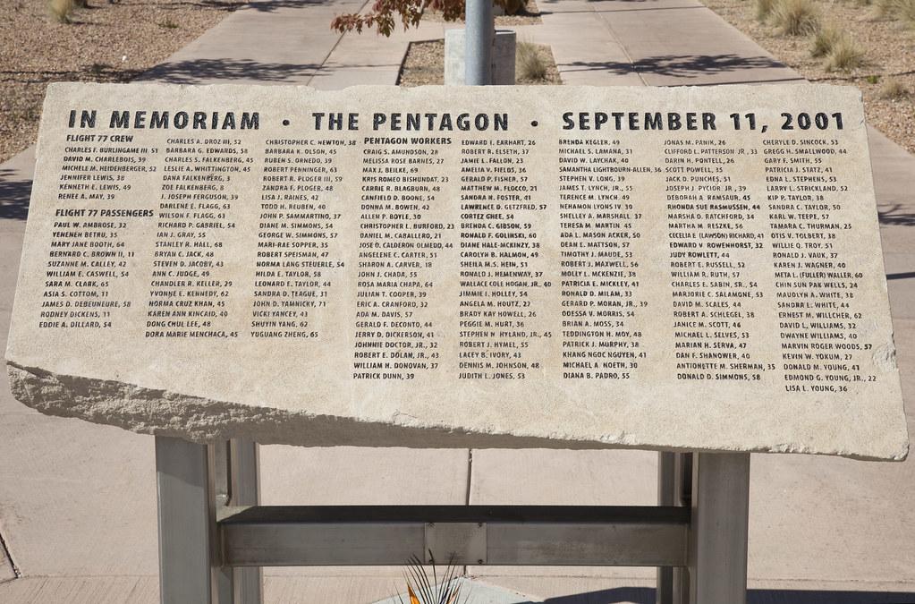 9/11 Pentagon Memorial, Los Alamos National Laboratory