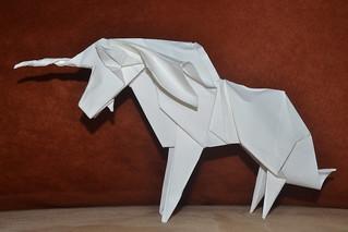 Unicorn (Design by Román Díaz) | by Origamiancy