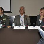 Wed, 07/20/2011 - 16:12 - Panel de Investigación: Miradas Particulares para Problemas Estratégicos Comunes.   De izquierda a derecha: Jorge Chacón, (Colombia), Aldo Olano (Colombia), Claudio Leal (Chile)