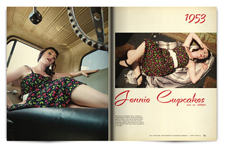 Vintage Magazine Spread Design Project - Pgs. 18 & 19 | by willstotler