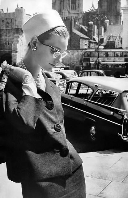 Starke Suit - Vogue Magazine, October, 1960