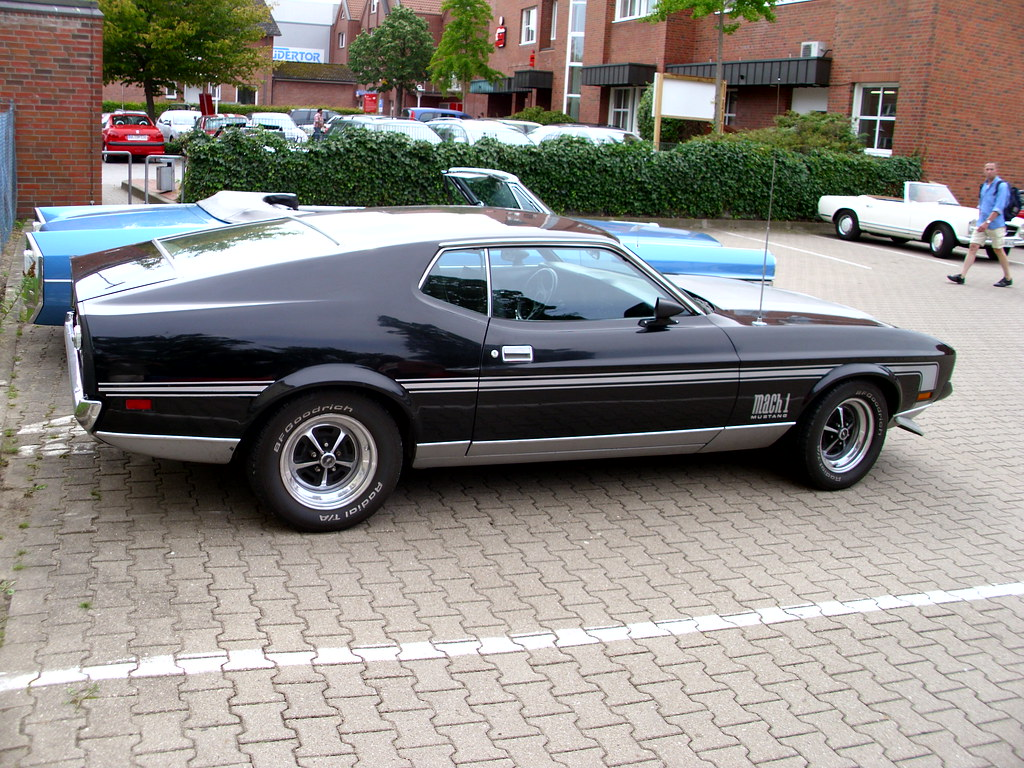 Ford mustang fastback mach 1 1972 7 by zappadong