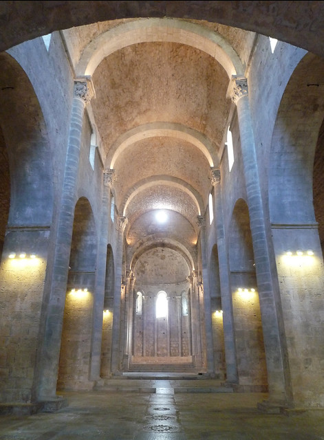 Monestir de Sant Pere de Galligants, Gerona, nave toward apse