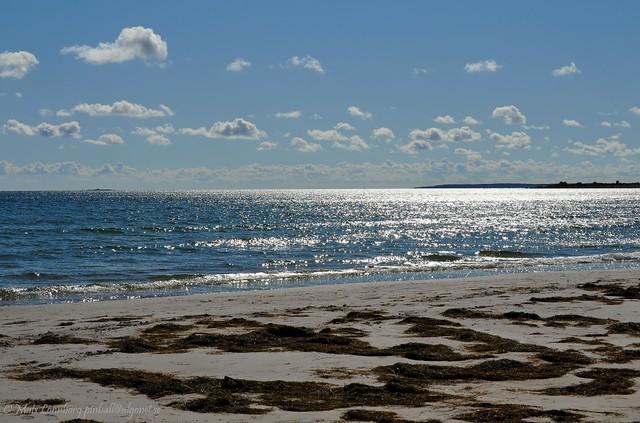 Sand, sky & water
