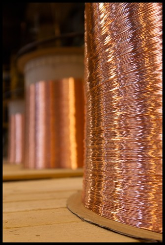 Industrial Photography: Copper Wires-004 | by Flavio~