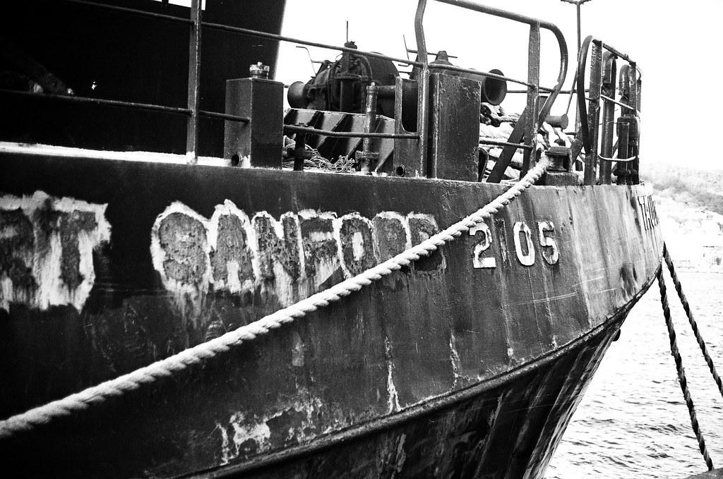 Derelict fishing boat 4