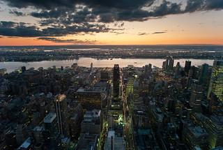 N.Y. from the Empire state | by Il conte di Luna