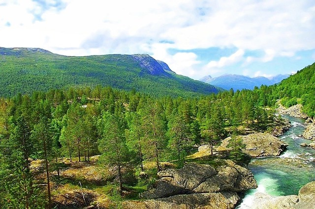 Norway - On the heights of Andalsnes