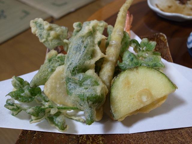 <p>この天ぷらのお野菜も山形&千葉県産</p>