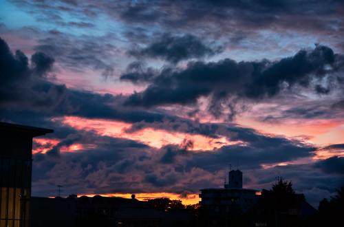 sunset david japan landscape 日本 aichi okazaki hdr aichiprefecture chubu honshu 愛知県 mikawa tonemapped に本 岡崎市 laspina 本州 中部地方 davidlaspina efs1855mmf3556is okazakicity japandave japandavecom 三河国