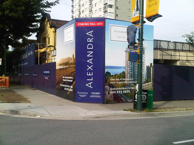 Hoarding & Signage samples by PacBlue Printing - Vancouver, British Columbia