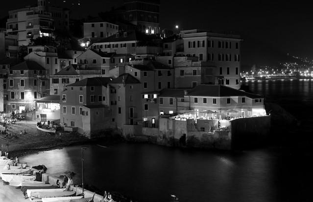 Boccadasse by night