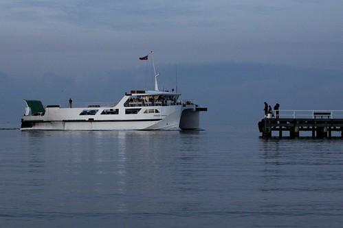 'Peninsula Princess' arrives at Sorrento