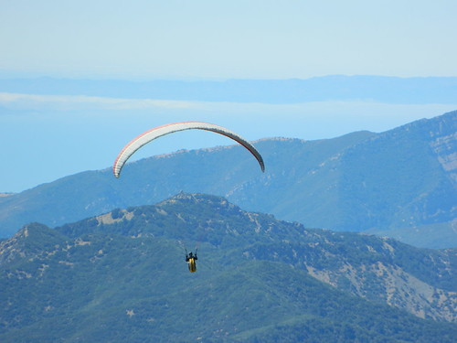 Soaring over Los Padres NF