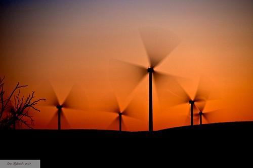 longexposure sunset windmill power blades windturbine riovista windmillfarm smud sooc sacramentophotographers greenelectricity n6oim 9682742 itsjustaroomer