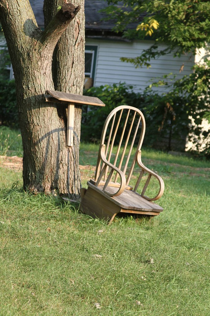 The little rocking chair in the prairie!