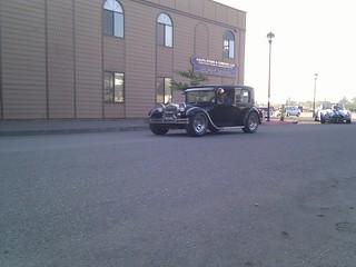 Some kind of old car parade? | by MarkDoliner