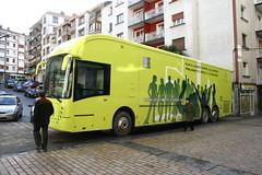 Autobus Parlamento Vasco
