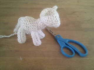 Incomplete Crocheted My Little Pony Im Working On A Croch Flickr