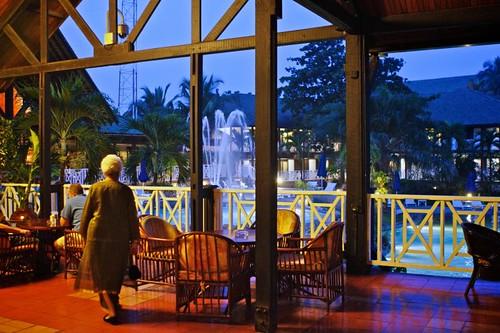 Labadi Beach Hotel -Entrance Lobby | by sweggs