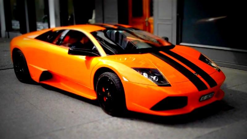 Orange And Black Lamborghini Murcielago Lp 640 Le Mans Edi Flickr