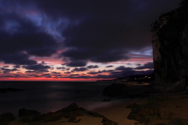 Waning Sunset at Victoria Beach
