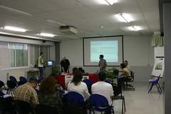 Jornadas Uni Encounter con Ignacio Ziarsolo presentando el proyecto Tecnópolis