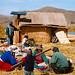 Indiáni u jezera Titicaca, foto: Eva Trnková