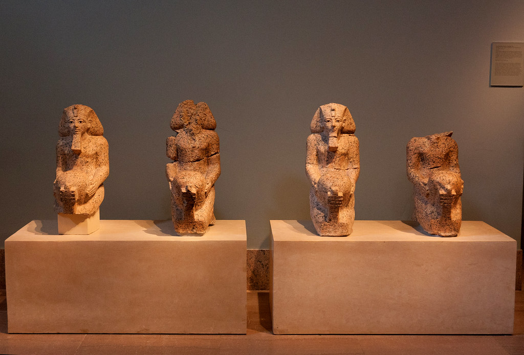 Egyptian, Dynasty 18, joint reign of Hatshepsut and Thutmose III (ca. 1473-1458 BC)  The Metropolitan Museum allows photo shooting providing there is no financial gain.  Please respect their policy