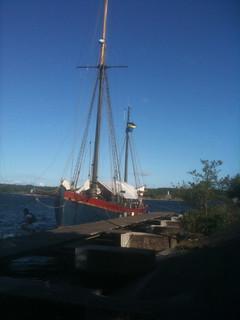 Piratskeppet.