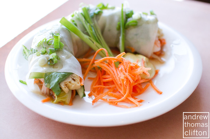 Shrimp Spring Roll | at national Thai Restaurant in Brooklyn