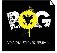 Bogotá Sticker festival by Gamin over