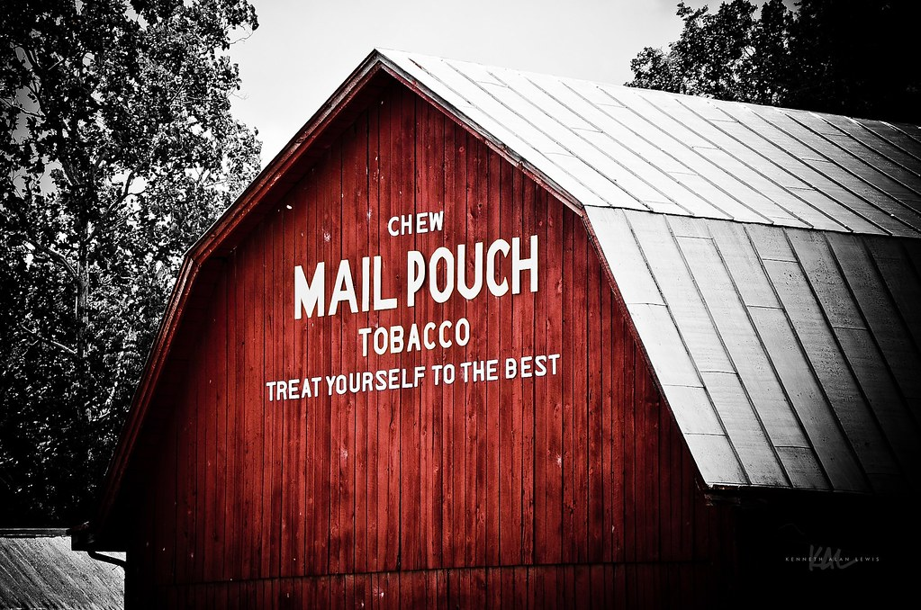 Mail Pouch Tobacco Barn   Chew Mail Pouch Tobacco. Treat