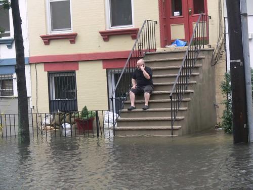 Hoboken Hurricane Irene 8-28-2011 by Gary
