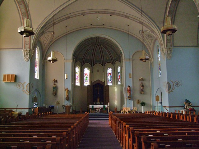 St. Bernard Catholic Church, Burkettsville, OH