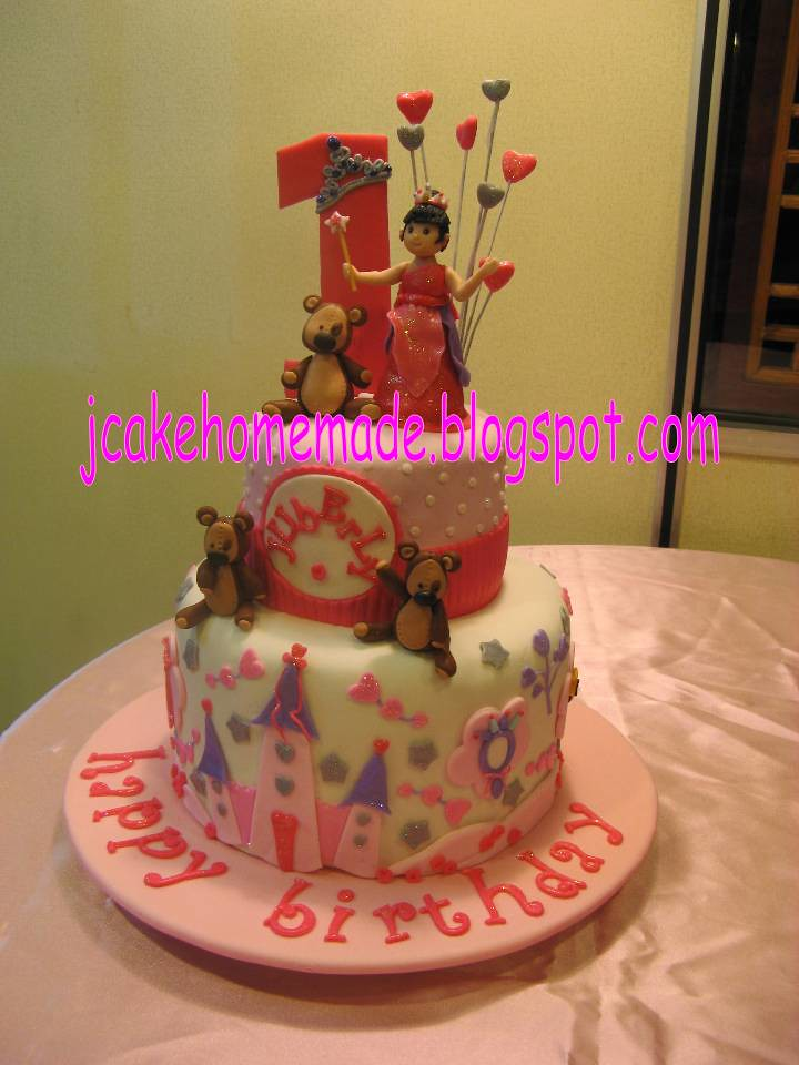 Outstanding Princess Birthday Cake Happy 1St Birthday Little Princess Flickr Personalised Birthday Cards Veneteletsinfo