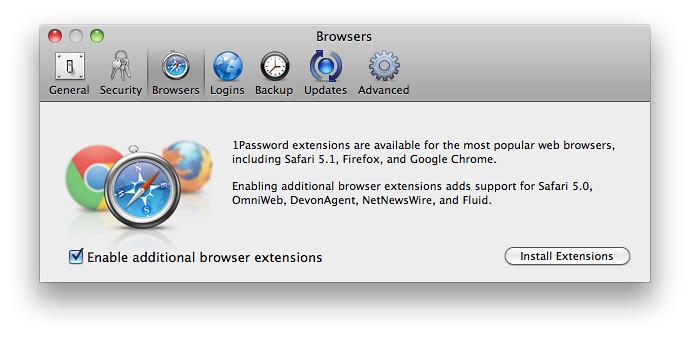1Password - Browsers | agilebits com/extensions/mac/index ht